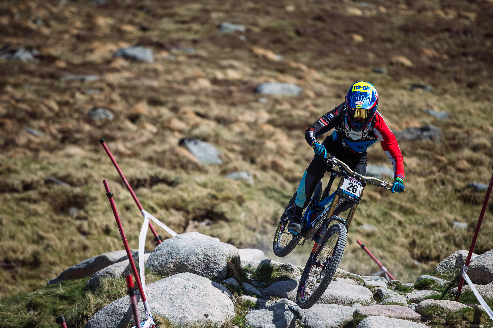 Danny Hart wins the 2016 BDS at Fort William - Fort William DH Action from the British Downhill Series - Mountain Biking Pictures - Vital MTB