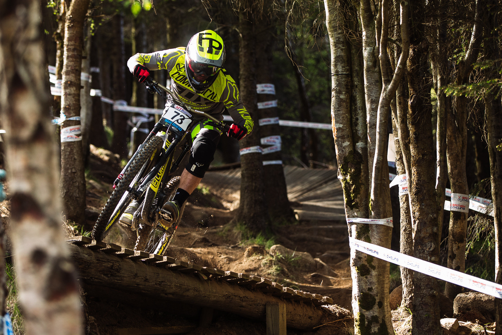 Remi Thirion, Fort William BDS - Fort William DH Action from the British Downhill Series - Mountain Biking Pictures - Vital MTB