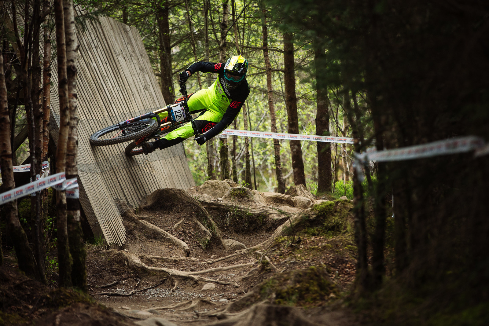 Brendan Fairclough, Fort William BDS - Fort William DH Action from the British Downhill Series - Mountain Biking Pictures - Vital MTB
