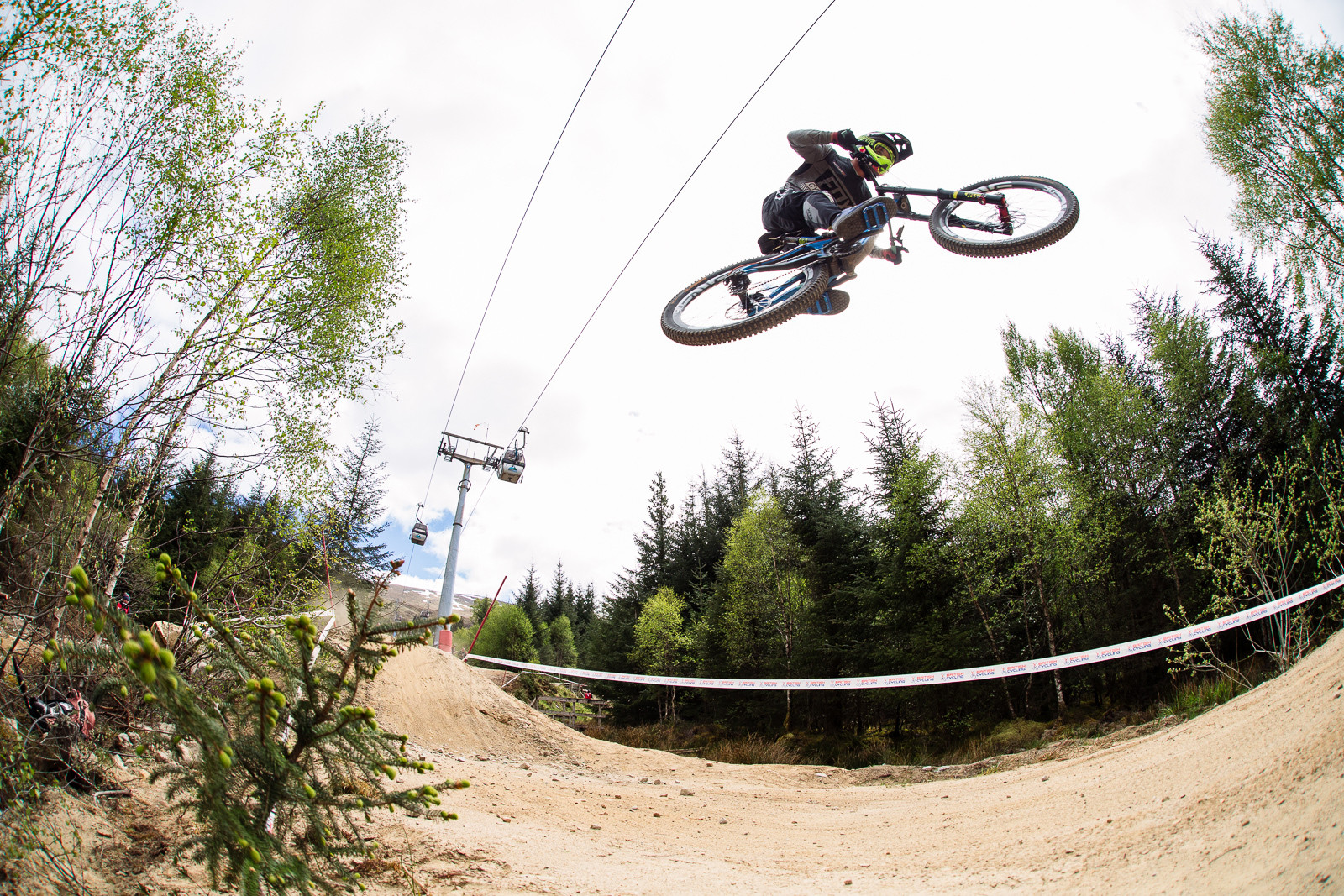 Scott Mears, Fort William BDS - Fort William DH Action from the British Downhill Series - Mountain Biking Pictures - Vital MTB