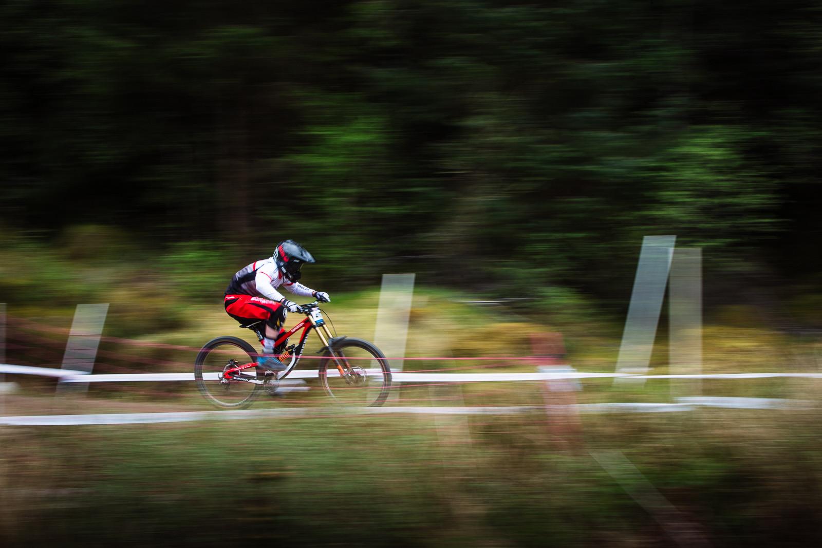 Matt Walker, Junior Winner, Fort William BDS - Fort William DH Action from the British Downhill Series - Mountain Biking Pictures - Vital MTB