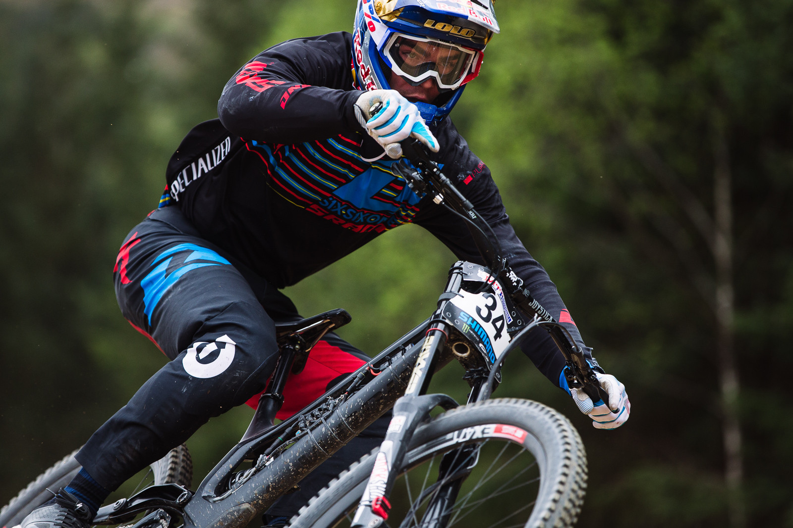 Loic Bruni, 3rd Place, Fort William BDS - Fort William DH Action from the British Downhill Series - Mountain Biking Pictures - Vital MTB