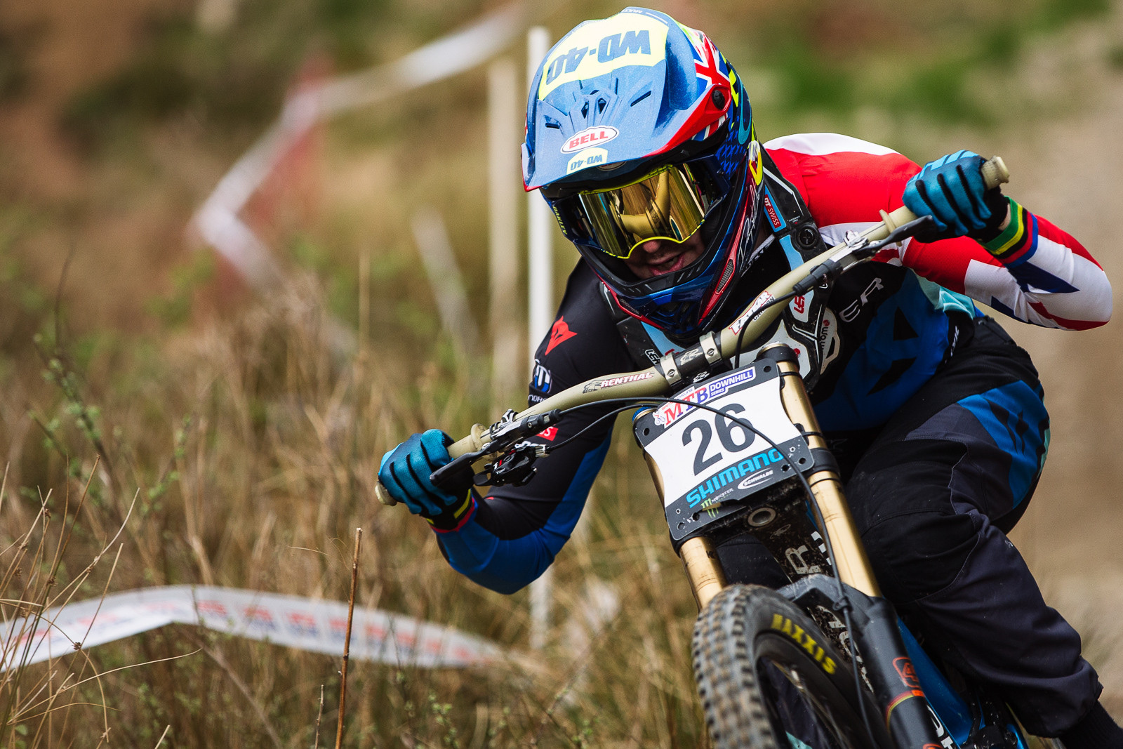 Danny Hart, Winner of the 2016 Fort William BDS - Fort William DH Action from the British Downhill Series - Mountain Biking Pictures - Vital MTB