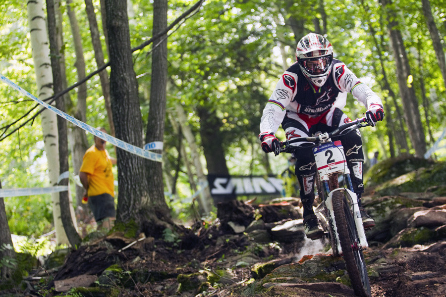 Greg Minnaar - Windham World Cup Day 2 - Mountain Biking Pictures - Vital MTB