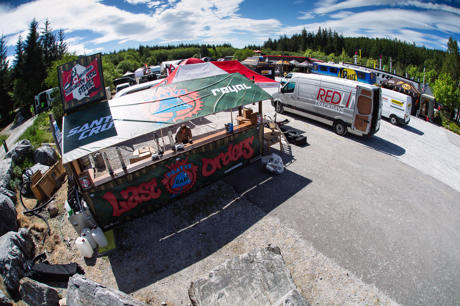Peaty's Portable Bar - PIT BITS - Fort William World Cup - Mountain Biking Pictures - Vital MTB