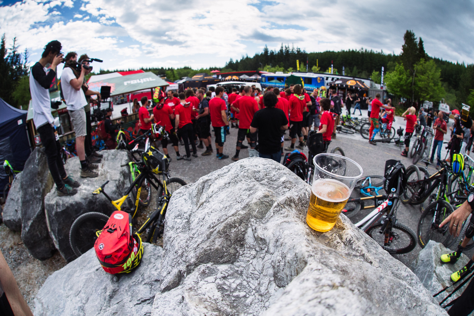 Steve Smith Memorial - PIT BITS - Fort William World Cup - Mountain Biking Pictures - Vital MTB