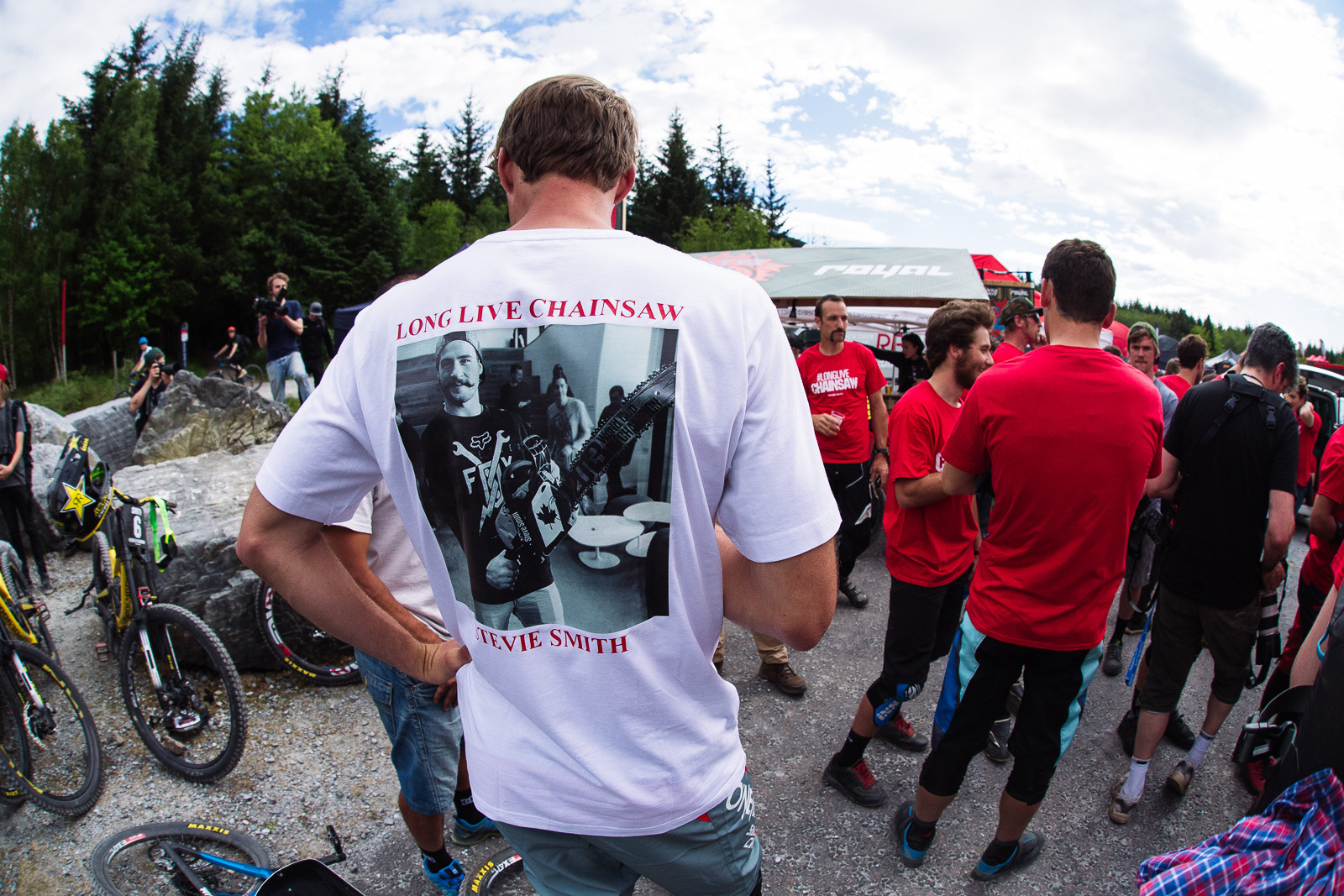 #longlivechainsaw - PIT BITS - Fort William World Cup - Mountain Biking Pictures - Vital MTB