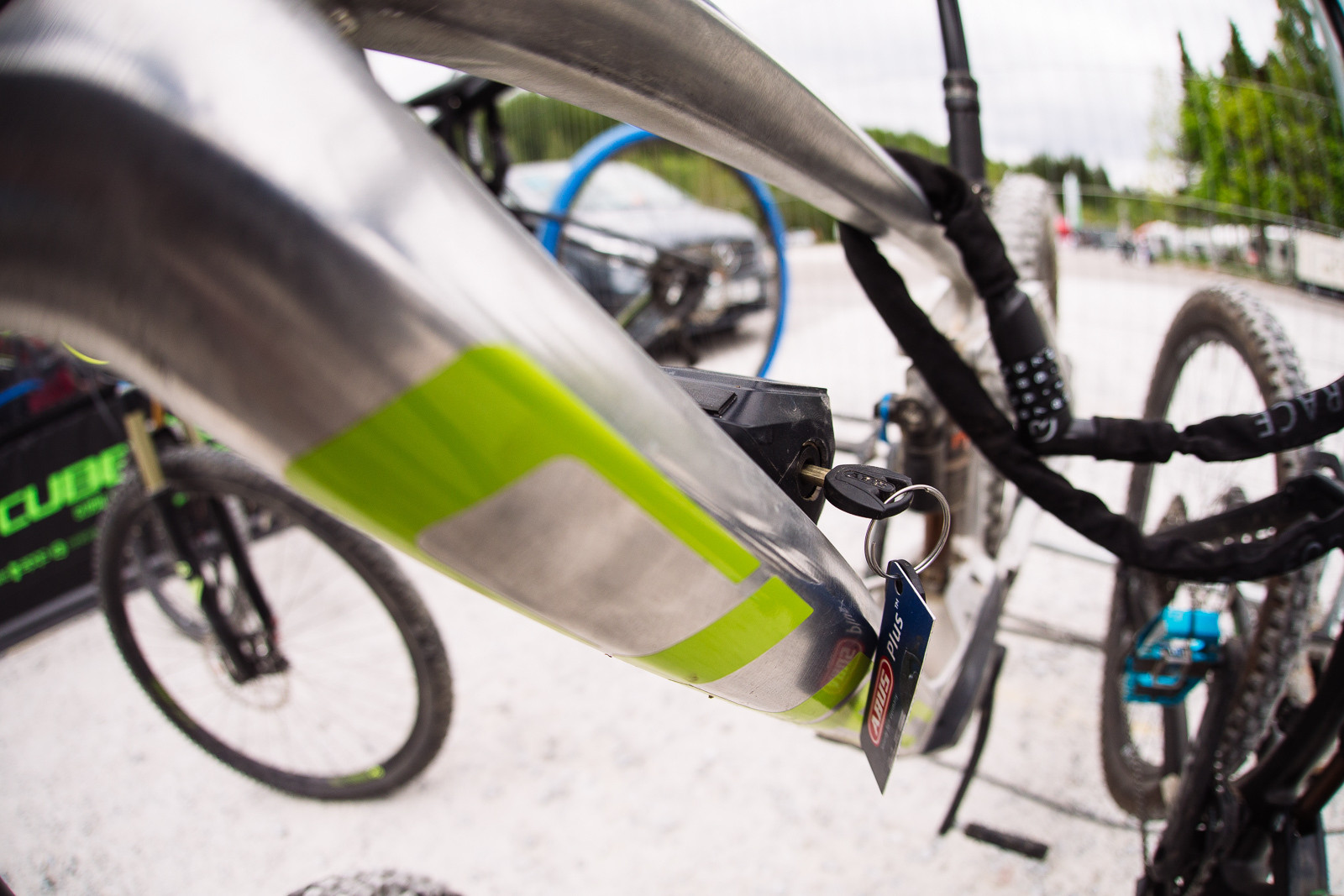 Cube ebike - PIT BITS - Fort William World Cup - Mountain Biking Pictures - Vital MTB