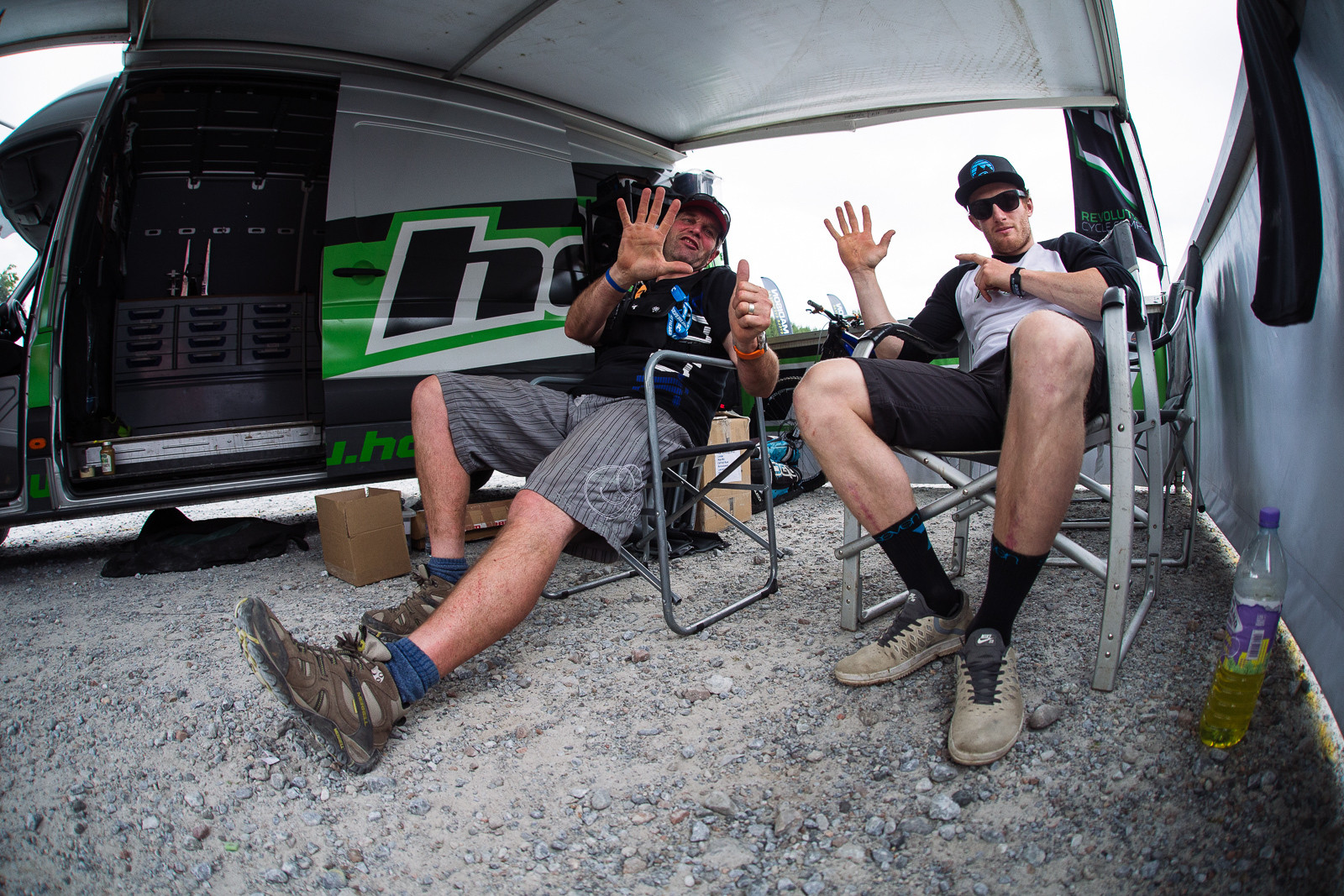 Hope Chillin' - PIT BITS - Fort William World Cup - Mountain Biking Pictures - Vital MTB