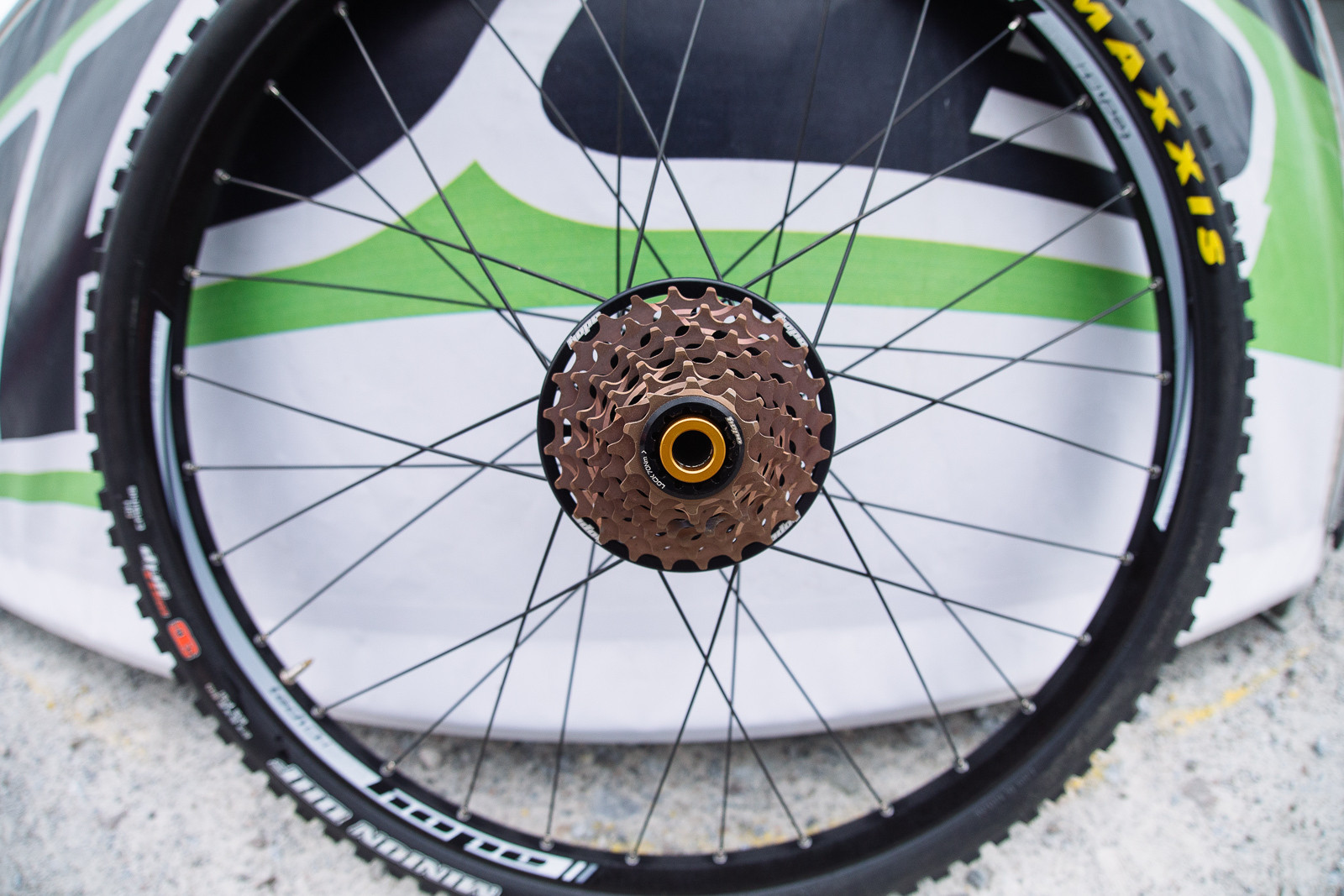 Hope 7-speed DH Cassette - PIT BITS - Fort William World Cup - Mountain Biking Pictures - Vital MTB
