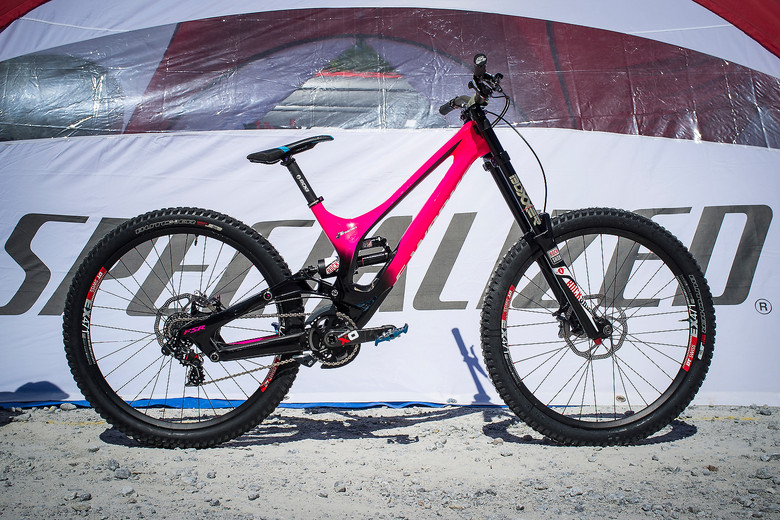 5a727315b6c Troy Brosnan's Custom-Painted Specialized S-Works Demo for Fort William -  PIT BITS - Fort William World ...