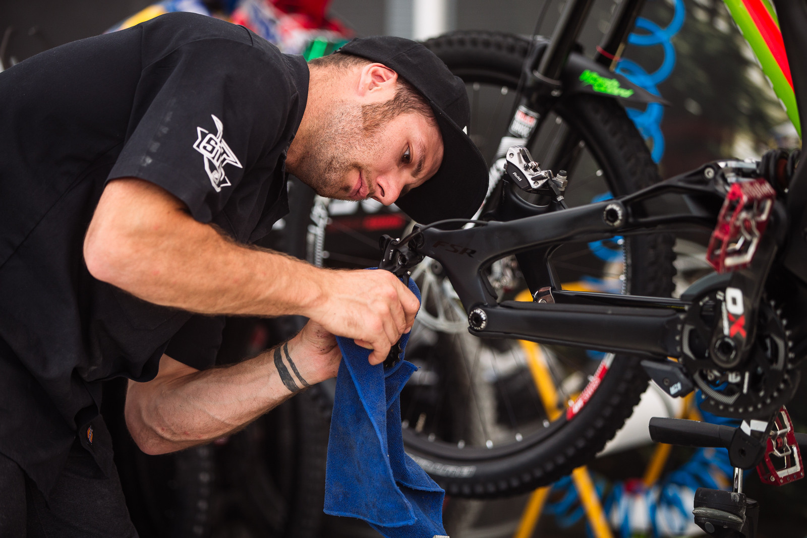 Loris Vergier's Bike - PIT BITS - Fort William World Cup - Mountain Biking Pictures - Vital MTB