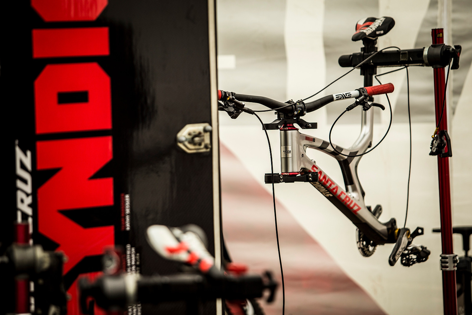Last Weekend's Winning Bike - PIT BITS - Leogang World Cup - Mountain Biking Pictures - Vital MTB