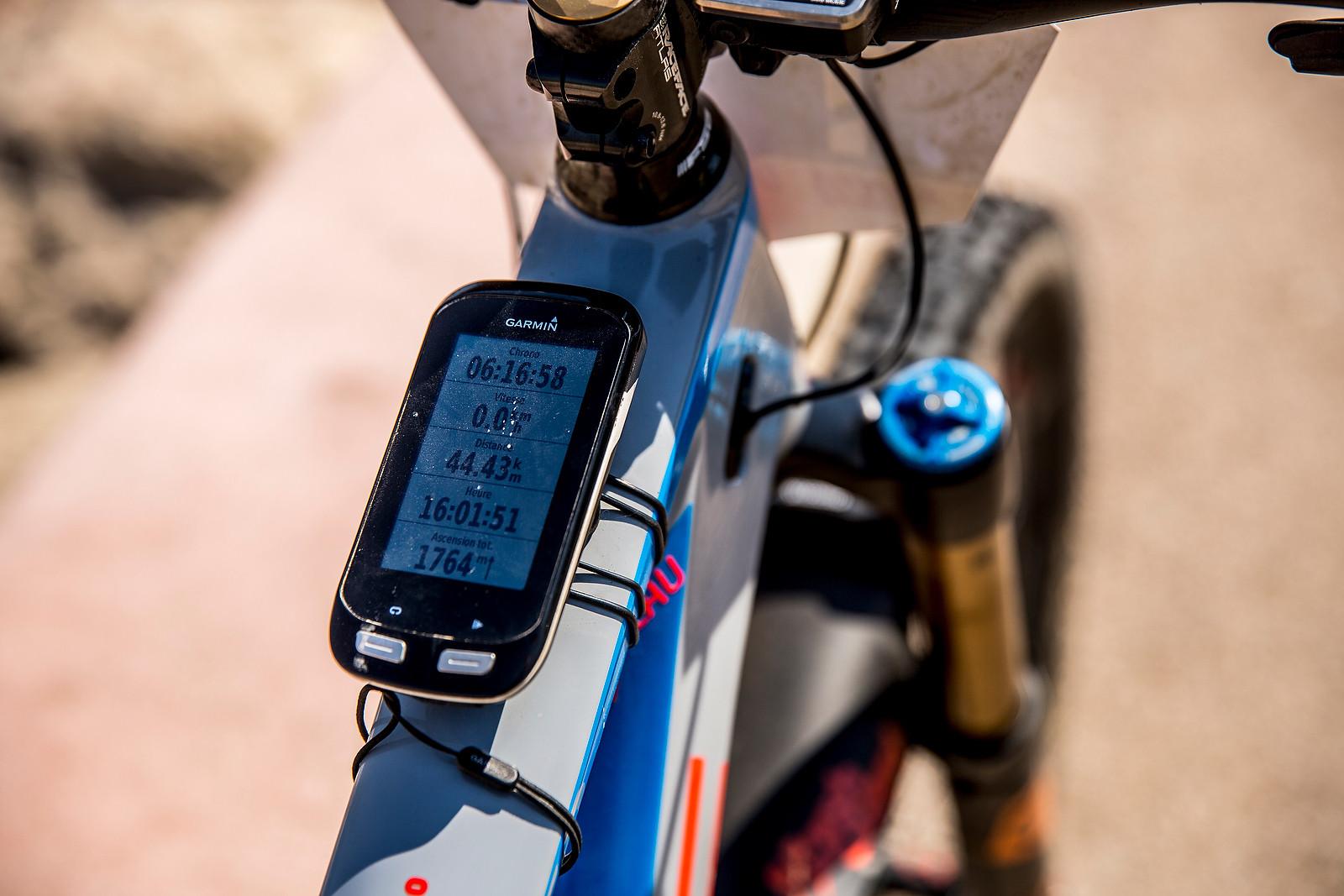 Garmin - WINNING BIKE: Nico Lau's Cube Stereo 140 29 - Mountain Biking Pictures - Vital MTB