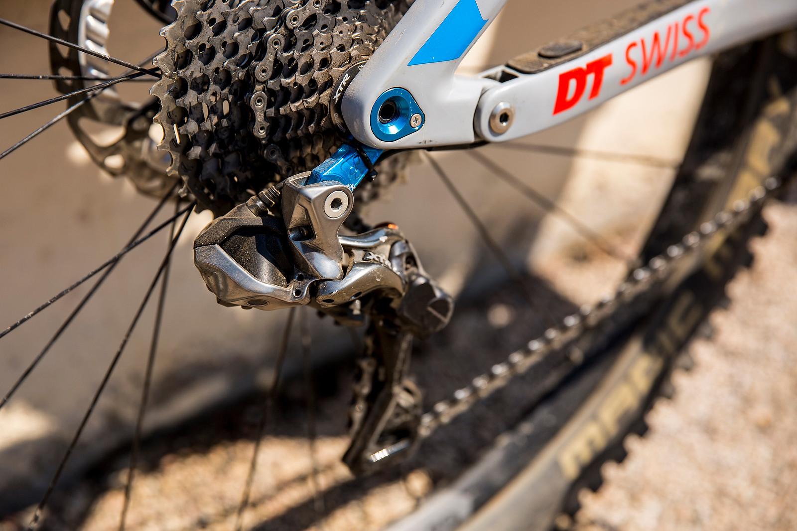 Shimano XTR Di2 Rear Derailleur - WINNING BIKE: Nico Lau's Cube Stereo 140 29 - Mountain Biking Pictures - Vital MTB