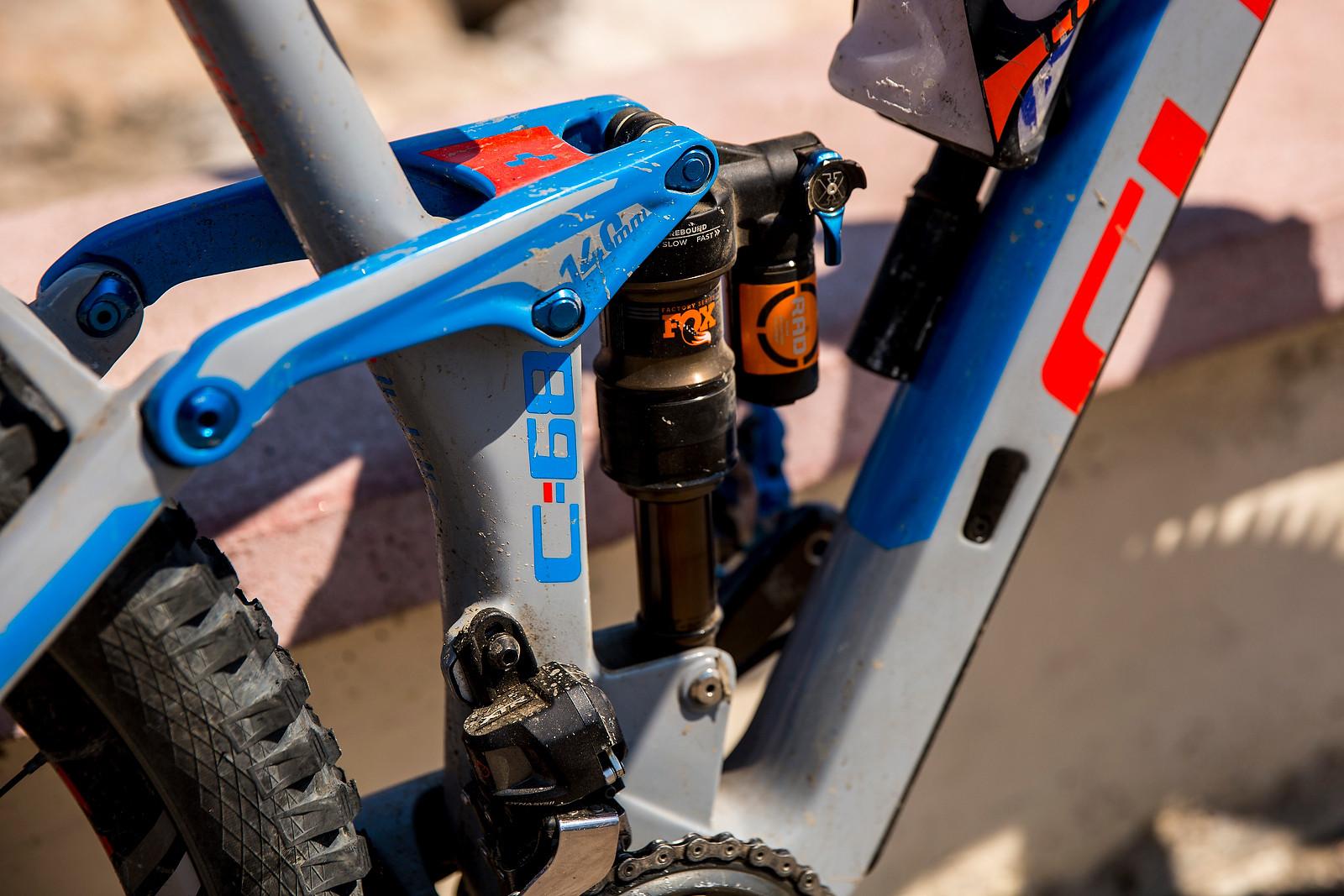 FOX Float X RAD with EVOL - WINNING BIKE: Nico Lau's Cube Stereo 140 29 - Mountain Biking Pictures - Vital MTB