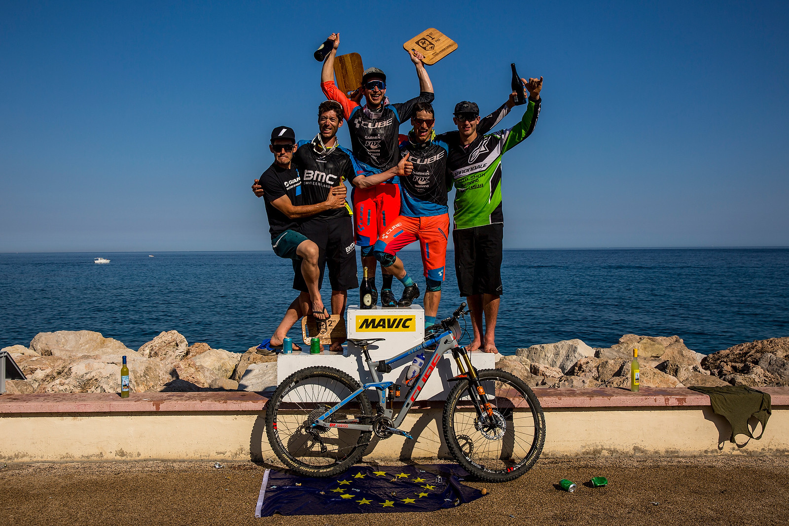 One Stoked Podium - WINNING BIKE: Nico Lau's Cube Stereo 140 29 - Mountain Biking Pictures - Vital MTB
