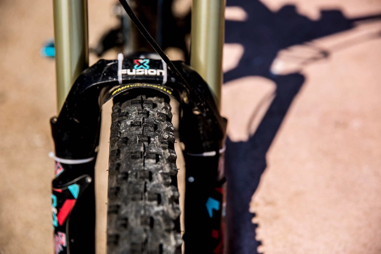 WTB Vigilante 2.3 Front Tire - WINNING BIKE: Anita Gehrig's Ibis Mojo HD3 - Mountain Biking Pictures - Vital MTB