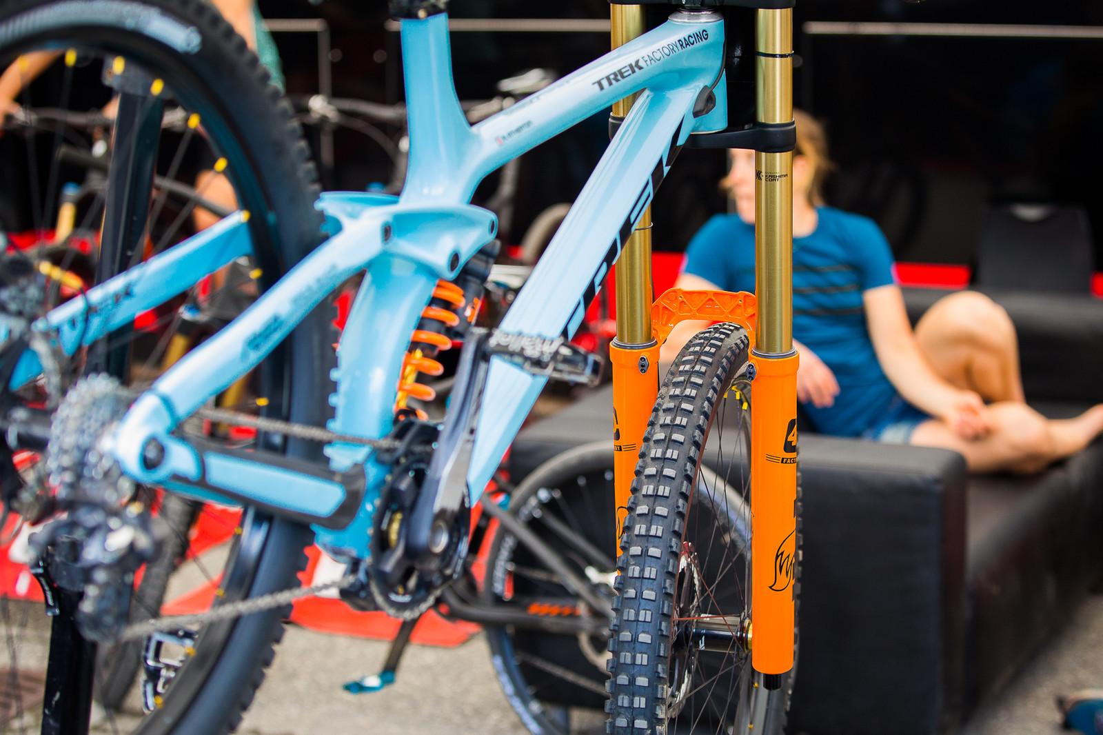 Trek Factory Racing Pits - PIT BITS - Lenzerheide World Cup - Mountain Biking Pictures - Vital MTB