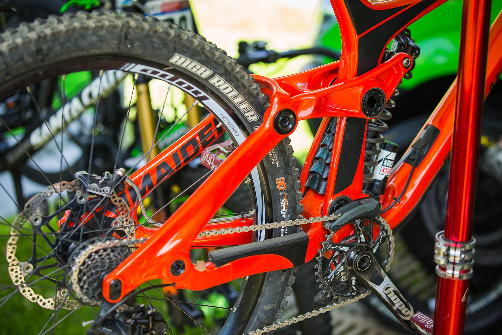 Rocky Mountain Maiden - PIT BITS - Lenzerheide World Cup - Mountain Biking Pictures - Vital MTB