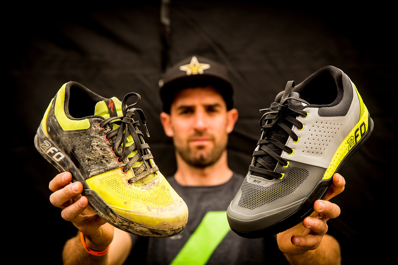 Andrew Neethling's Specialized 2FO Shoes - PIT BITS - Lenzerheide World Cup - Mountain Biking Pictures - Vital MTB