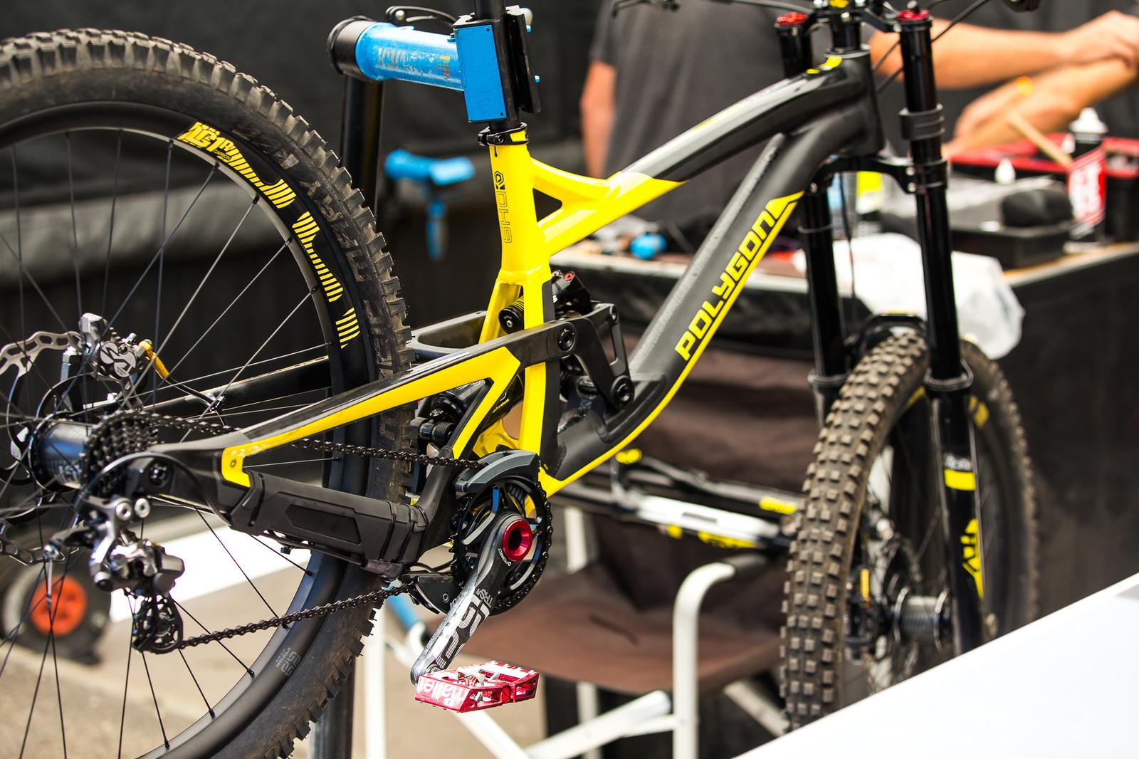 Polygon UR Pits - PIT BITS - Lenzerheide World Cup - Mountain Biking Pictures - Vital MTB