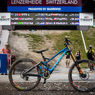 WINNING BIKE: Danny Hart's Mondraker Summum Carbon