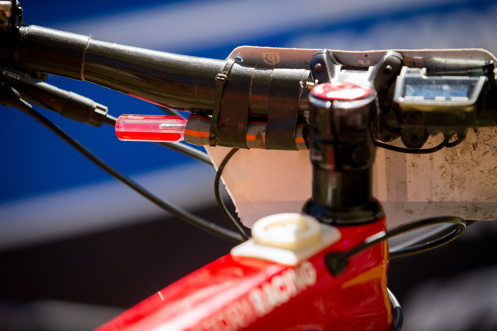 Rene Wildhaber's Tire Plugs - PIT BITS - Enduro World Series, La Thuile, Italy - Mountain Biking Pictures - Vital MTB