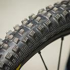Fabien Barel's Custom Cut Mavic Tires