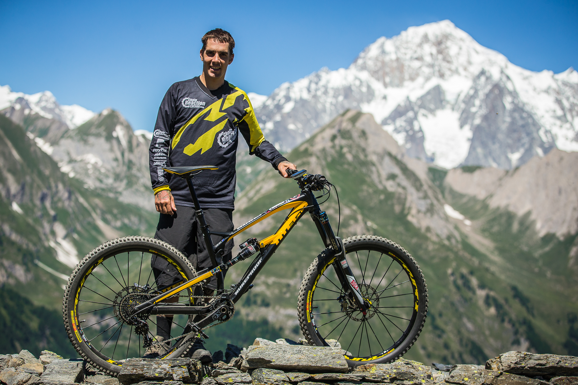 Drag Racing Helmets >> Sam Hill, Bitches - PIT BITS - Enduro World Series, La Thuile, Italy - Mountain Biking Pictures ...