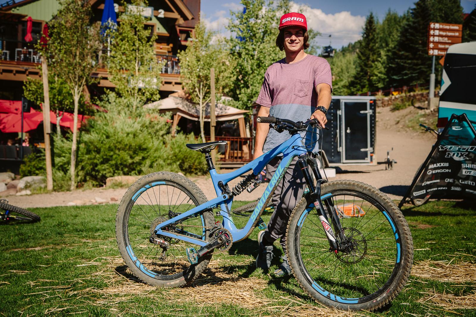 Mitch Ropelato's Santa Cruz 5010 - PIT BITS - Enduro World Series, Aspen, Colorado - Mountain Biking Pictures - Vital MTB