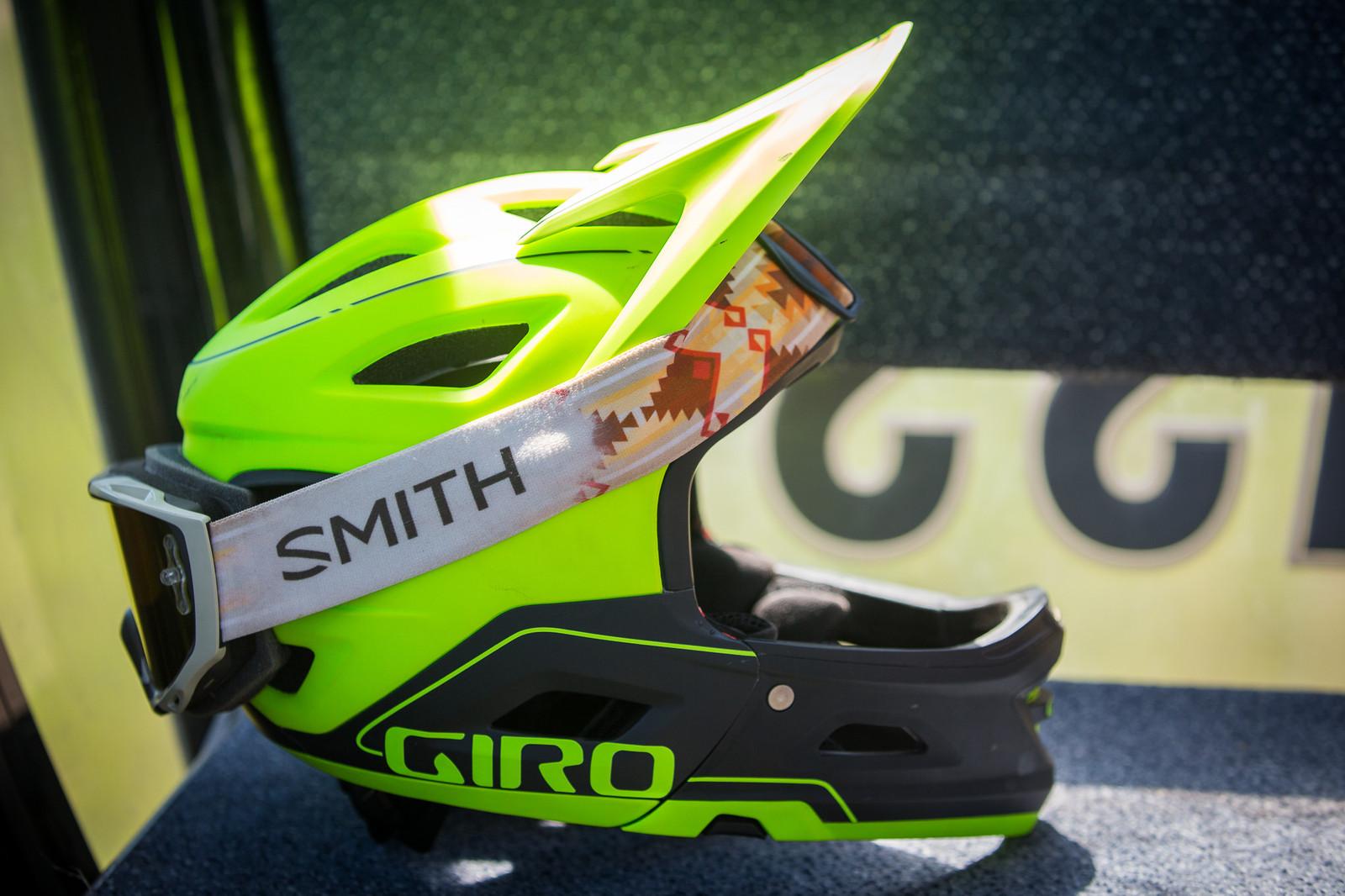Giro's New Switchblade Out in the Wild - PIT BITS - Enduro World Series, Aspen, Colorado - Mountain Biking Pictures - Vital MTB