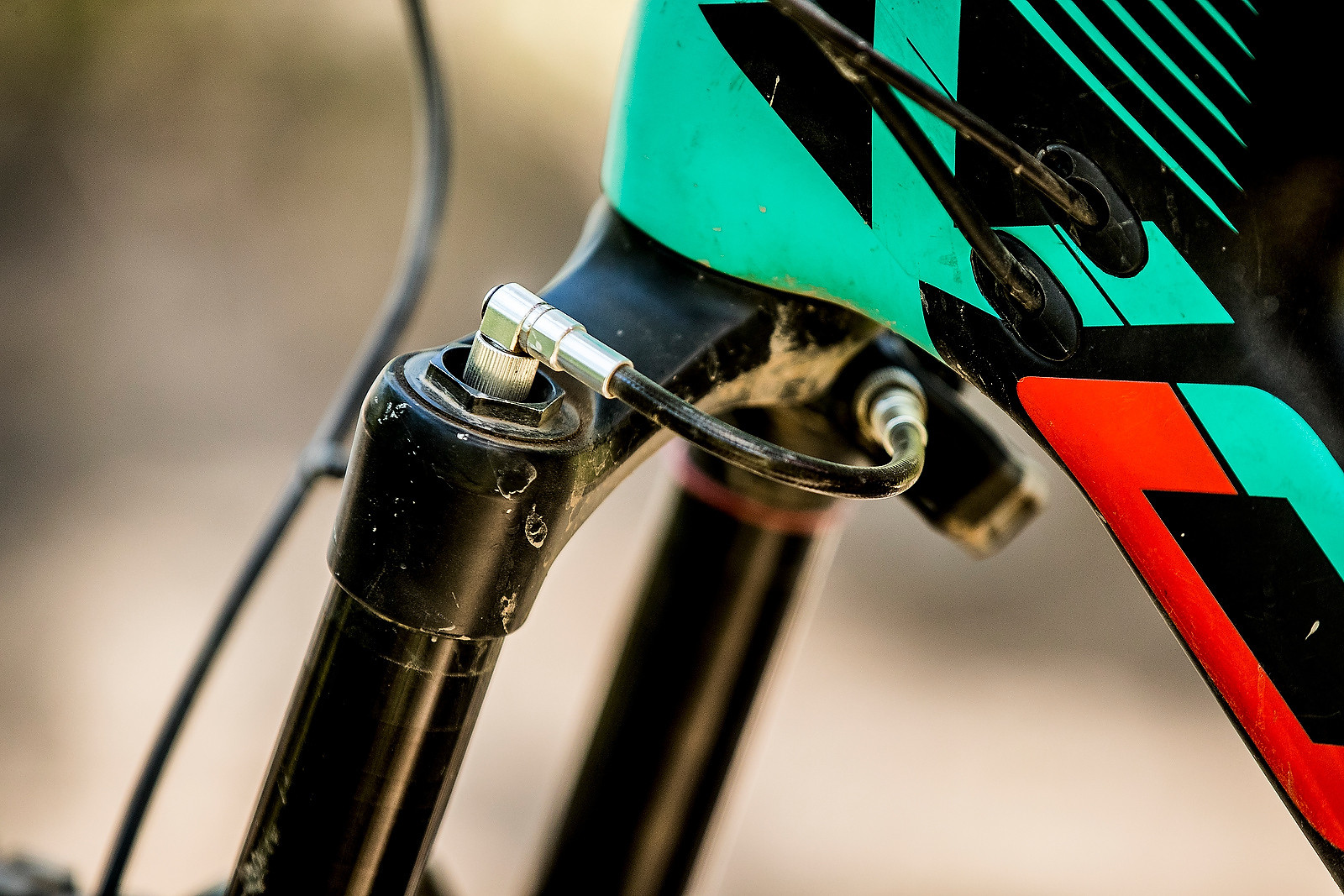 SRAM Quarq/ShockWiz Telemetry Device - PIT BITS - Enduro World Series, Aspen, Colorado - Mountain Biking Pictures - Vital MTB