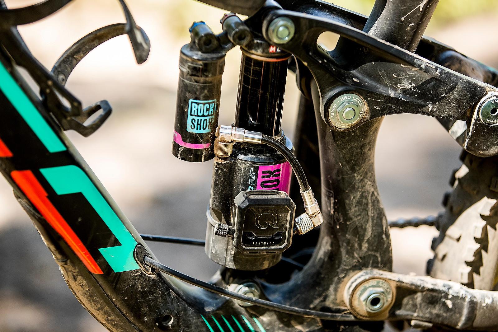 SRAM Quarq/ShockWiz Telemetry Device - PIT BITS - Enduro World Series, Aspen, Colorado - Mountain Biking Pictures - Vital MTB