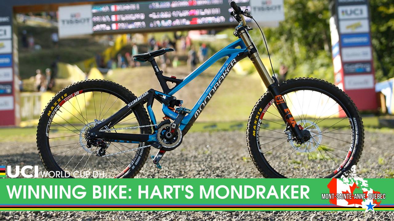 WINNING BIKE: Danny Hart's Mondraker Summum Carbon - WINNING BIKE: Danny Hart's Mondraker Summum Carbon - Mountain Biking Pictures - Vital MTB