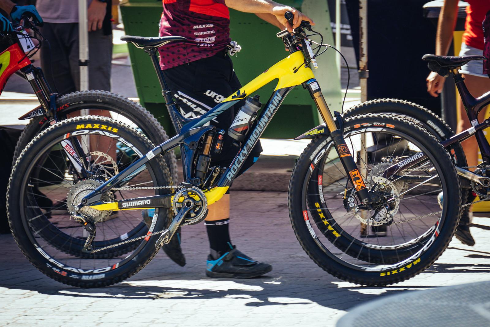 2017 Rocky Mountain Slayer - PIT BITS - Enduro World Series, Whistler - Mountain Biking Pictures - Vital MTB