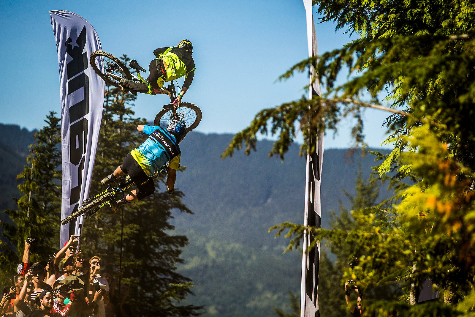 Allan Cooke and Brook MacDonald - Whip Off World Champs Photo Blast - Mountain Biking Pictures - Vital MTB