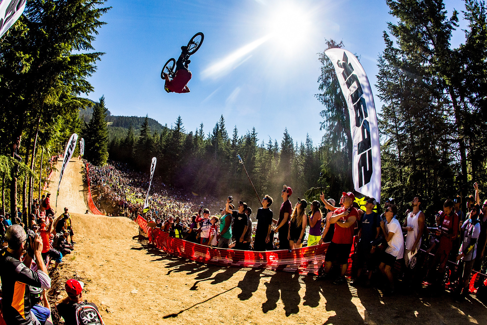 Freakin' Front Flip?! - Whip Off World Champs Photo Blast - Mountain Biking Pictures - Vital MTB