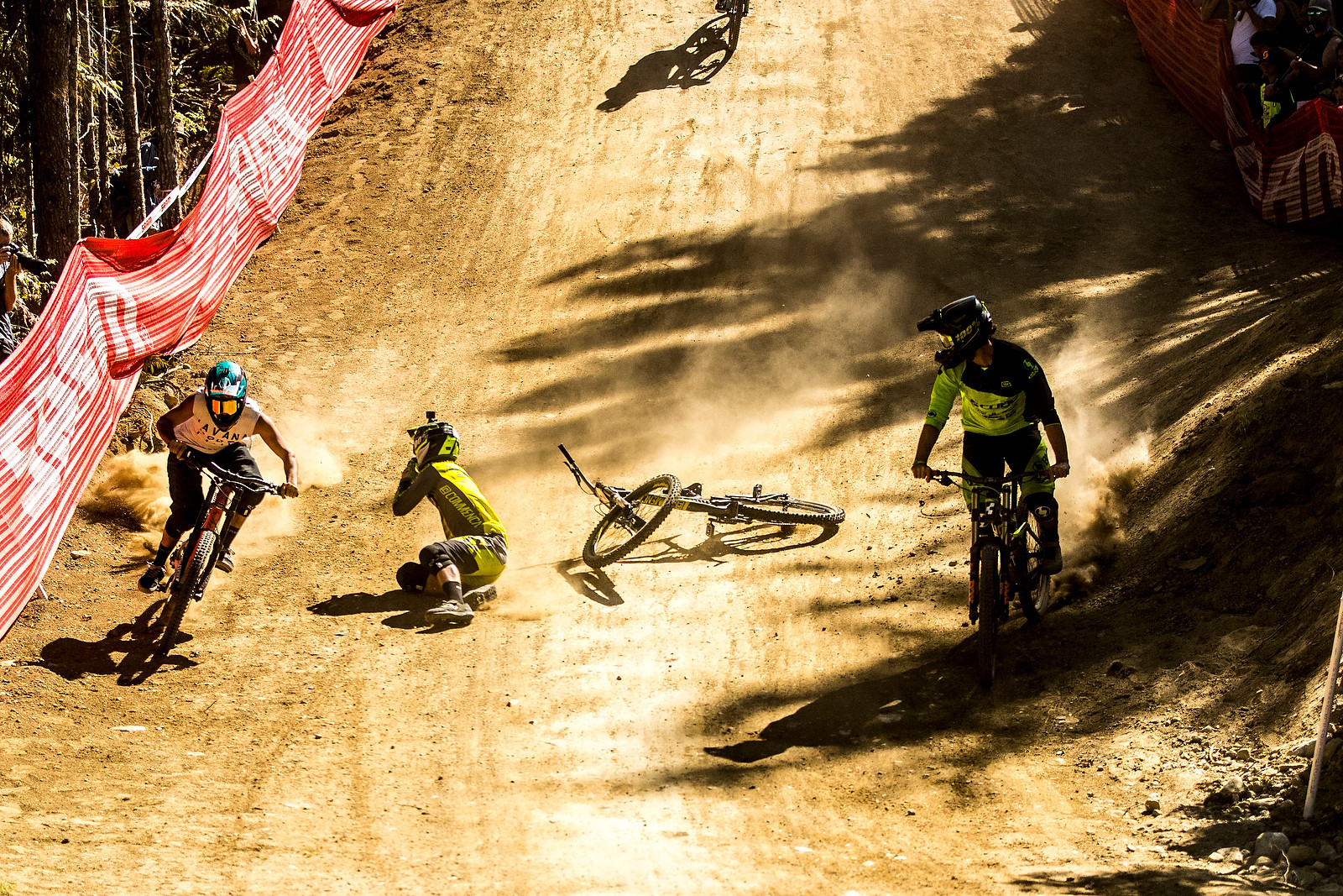 Brannigan Makes Sure the Landing is Packed - Whip Off World Champs Photo Blast - Mountain Biking Pictures - Vital MTB