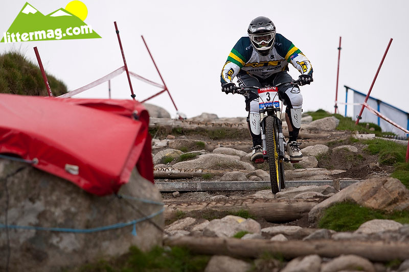 Mick Hannah - 2009 UCI World Cup Fort William - Day 3 - Mountain Biking Pictures - Vital MTB