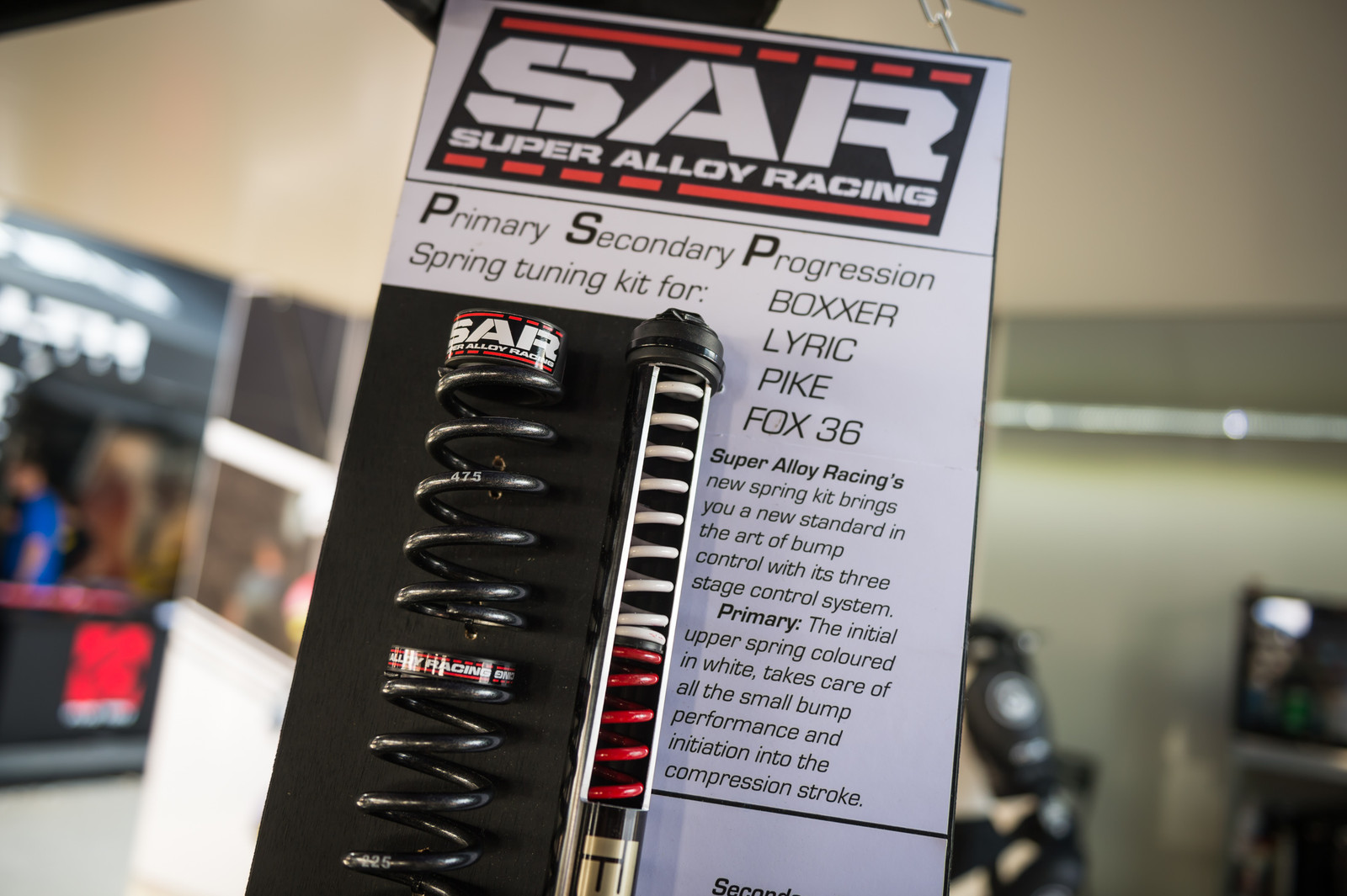 SAR PSP Spring Tuning Kit for BoXXer, Lyrik, Pike and FOX 36 - EUROBIKE - 2017 Mountain Bike Components - Mountain Biking Pictures - Vital MTB