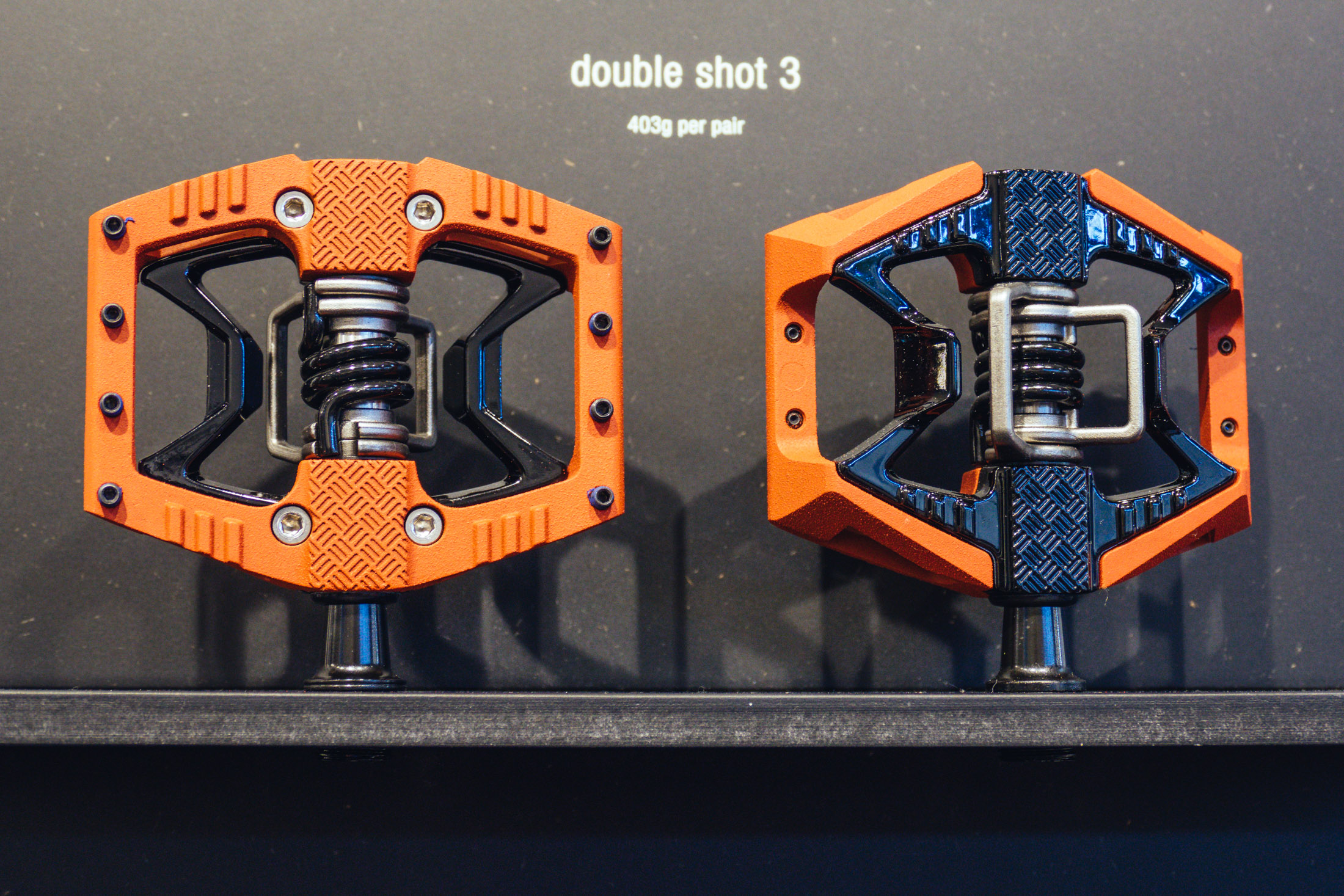 Crankbrothers Double Shot 3 Pedals Eurobike 2017