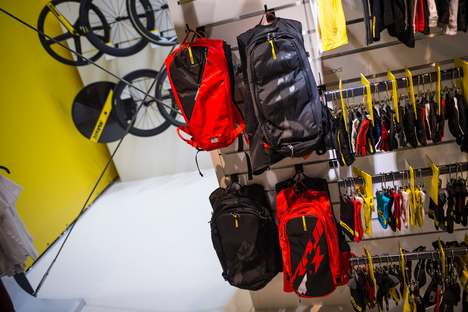 Mavic Crossmax Backpack Range - EUROBIKE - 2017 Mountain Bike Apparel and Protective Gear - Mountain Biking Pictures - Vital MTB
