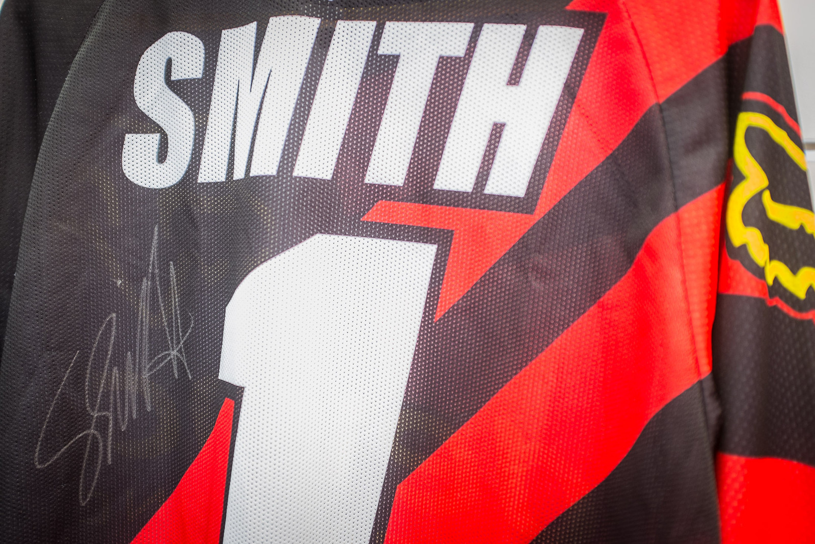 Stevie Smith Autographed Jersey - EUROBIKE - 2017 Mountain Bike Apparel and Protective Gear - Mountain Biking Pictures - Vital MTB