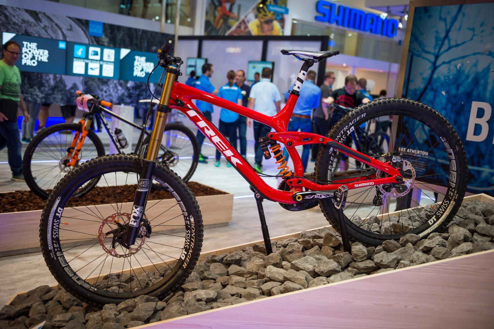 Gee Atherton's Trek Session - EUROBIKE - 2017 Downhill Bikes and Gear - Mountain Biking Pictures - Vital MTB