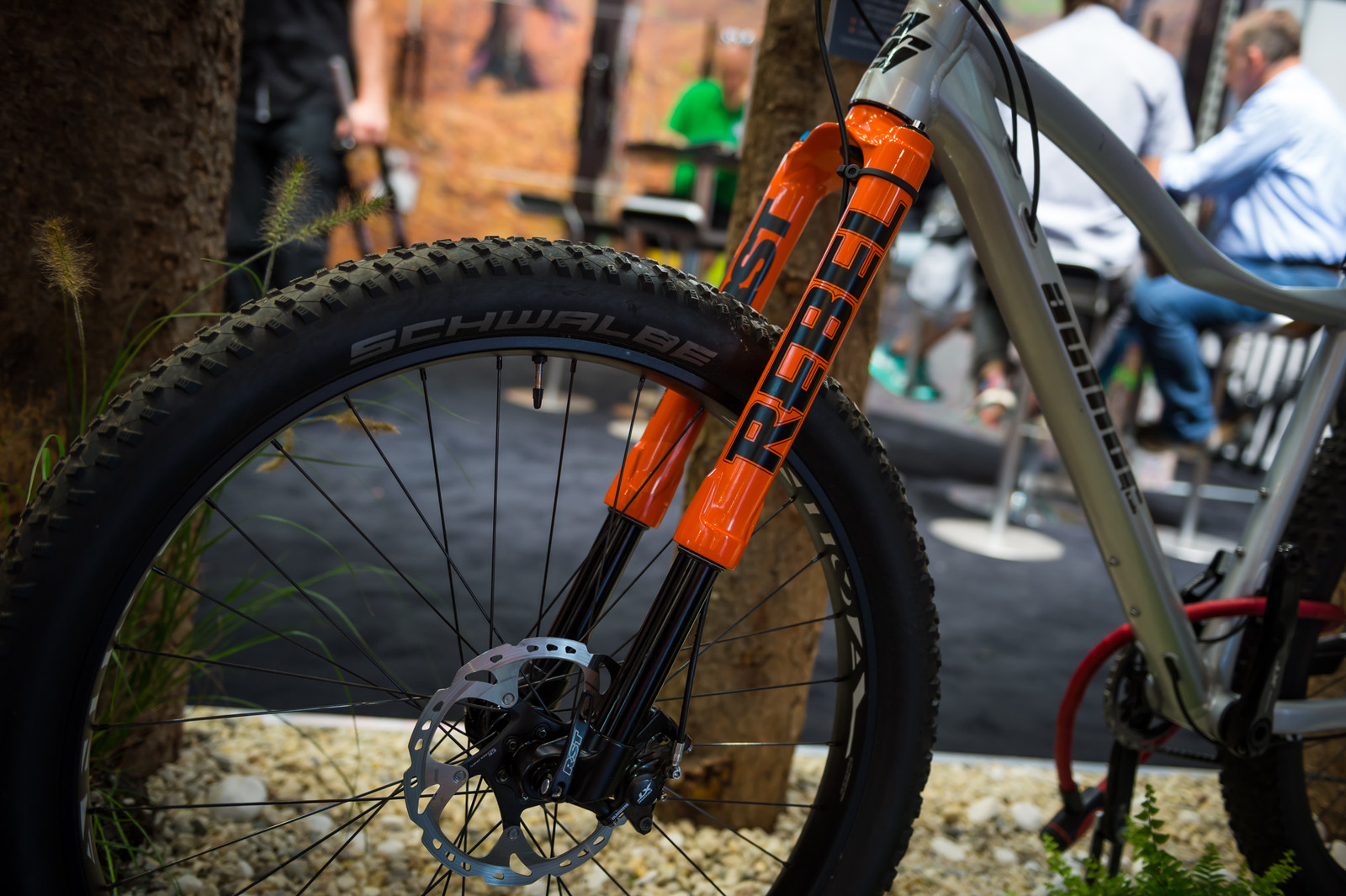 RST Rebel Inverted Fork - EUROBIKE - 2017 Mountain Bike Components - Mountain Biking Pictures - Vital MTB