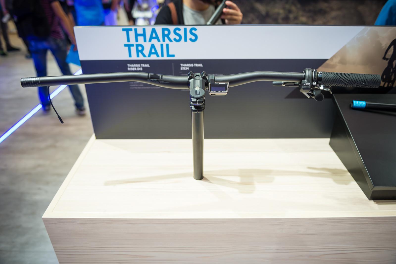 PRO / Shimano Tharsis and Koryak Di2 Cockpit - EUROBIKE - 2017 Mountain Bike Components - Mountain Biking Pictures - Vital MTB