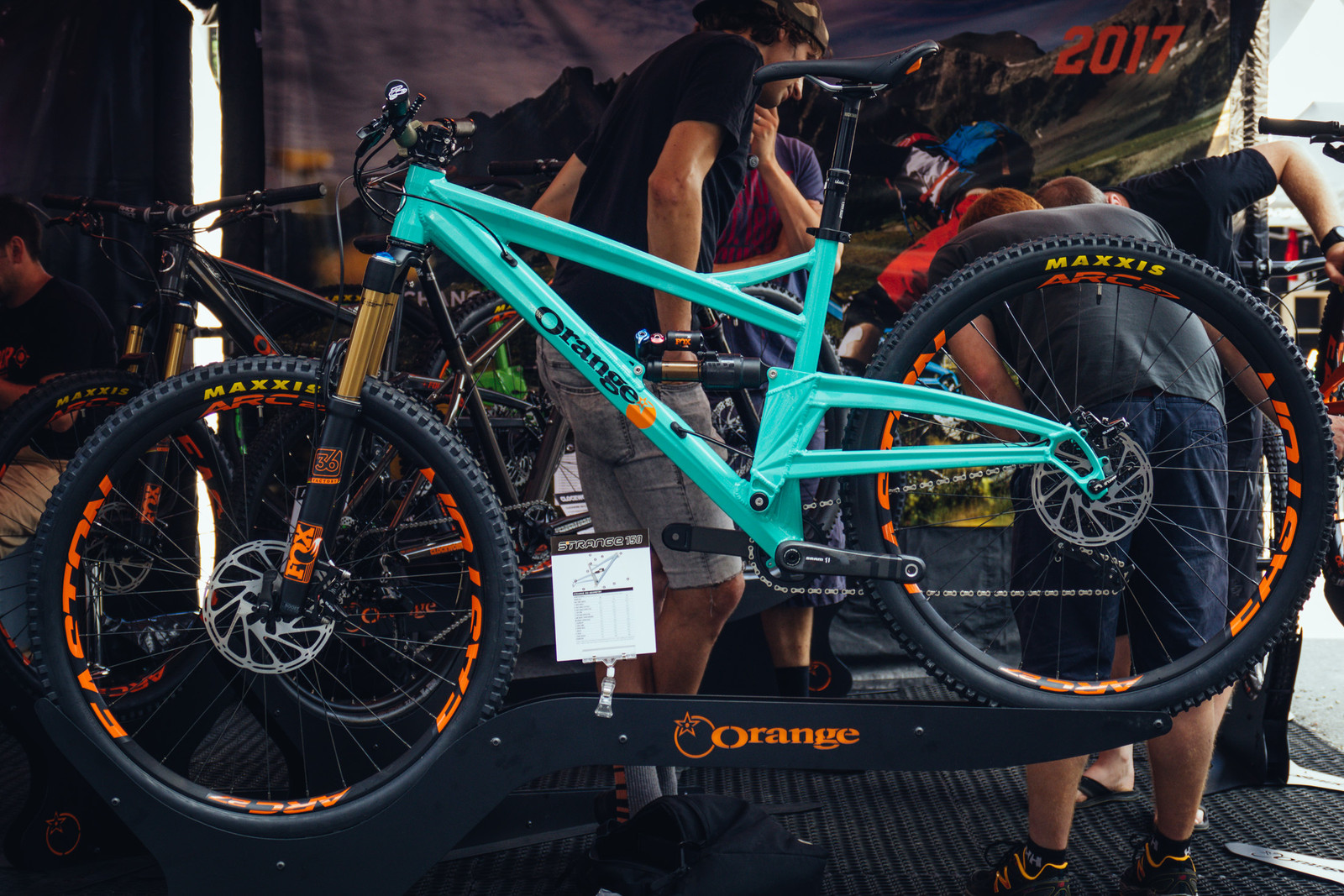 Orange Strange Long Reach 29er Prototypes - EUROBIKE - 2017 Enduro and Trail Bikes - Mountain Biking Pictures - Vital MTB