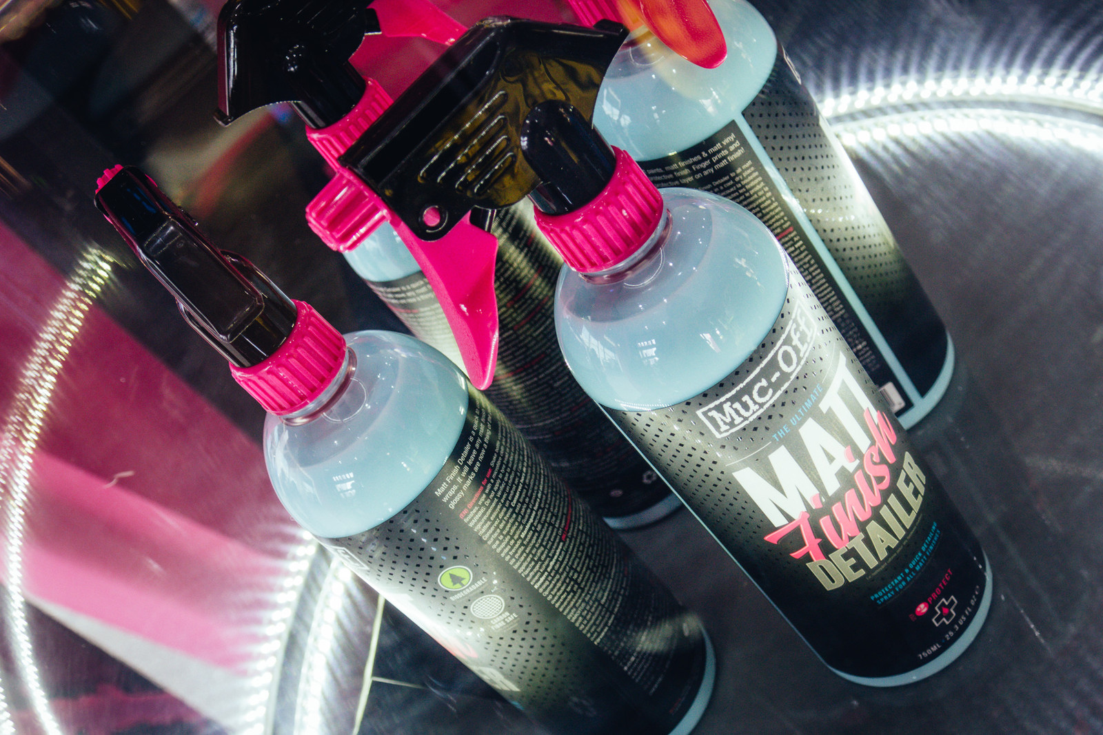 MucOff Matt Finish Detailer - EUROBIKE - 2017 Mountain Bike Components - Mountain Biking Pictures - Vital MTB