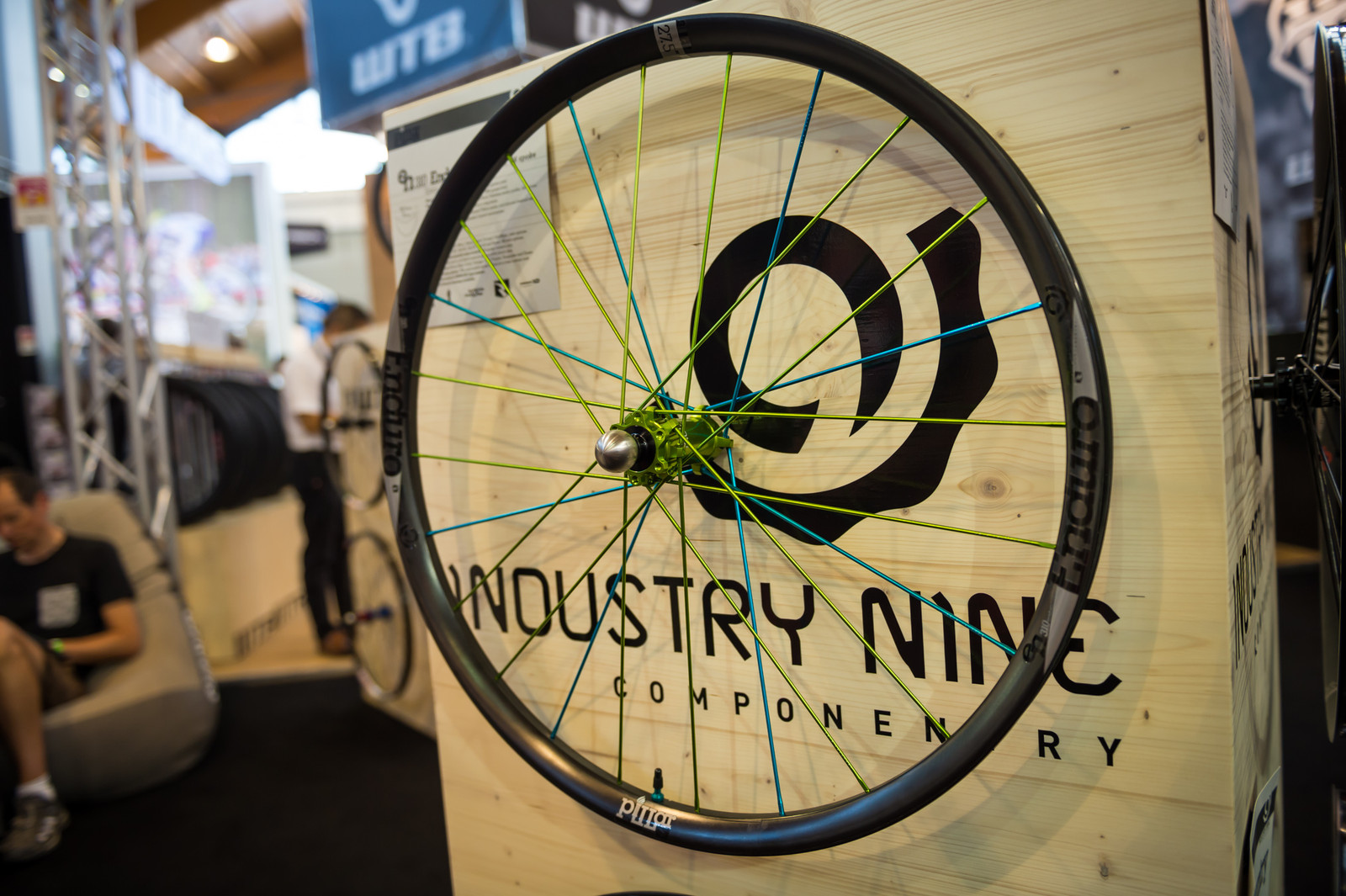 Industry 9 EN310 Enduro Carbon and Backcountry 360 Wheels - EUROBIKE - 2017 Mountain Bike Components - Mountain Biking Pictures - Vital MTB
